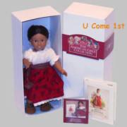 mini josefina doll glass eyes