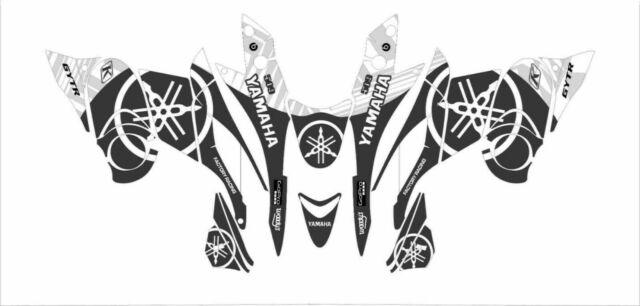 YAMAHA tunnel wrap graphics FX NYTRO RTX XTX MTX DECAL