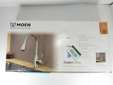 moen one handle high arc pulldown kitchen faucet chrome