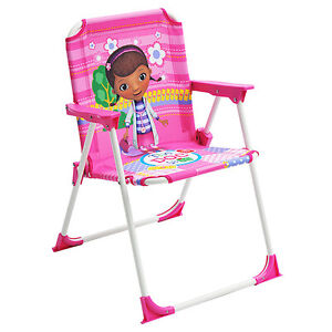 doc mcstuffin chair cane swivel cushions disney mcstuffins kids single outdoor indoor toddler image is loading