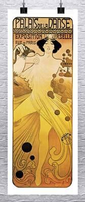 Le Palais De La Danse : palais, danse, Palais, Danse, Nouveau, Paris, Dance, Poster, Canvas, Giclee, 17x42