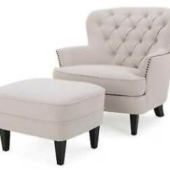 Tafton Club Chair Folding Online Tufted Fabric With Ottoman By Christopher Knight Stock Photo