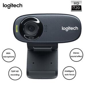 Logitech C310 Webcam Video Camera System W/ Auto Focus Microphone For PC | eBay