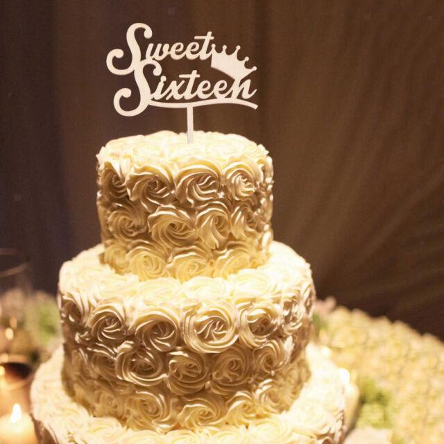 sweet sixteen 16 wooden
