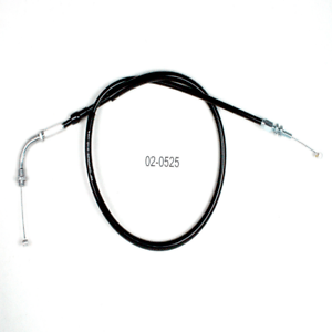 Black Vinyl Pull Throttle Cable For 2003 Honda VT750DC