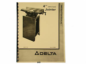 Rockwell Jointer 37 130 Manual