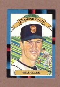 Sorry if this comes across as negative, it was meant as a place for observations not to moan :d. 1988 Donruss Baseball Card 21 Will Clark Giants Diamond King Ebay