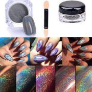 holographic powder 2g pot rainbow