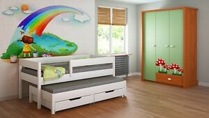 Image Is Loading Kids Children Juniors Trundle Bed Mattress 140x70 160x80
