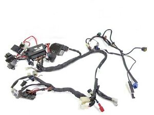02 03 YAMAHA YZF R1 YZFR1 MAIN ELECTRICAL WIRES CABLING