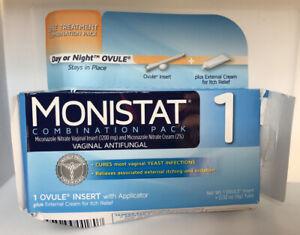 2 Monistat miconazole nitrate vaginal insert Yeast ...