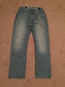 Levis Denizen 218 Straight Fit : levis, denizen, straight, Levis, Denizen, Straight, Jeans, Waist