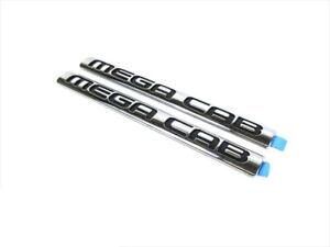 06-08 DODGE RAM 1500 2500 3500 MEGA CAB NAMEPLATE EMBLEM