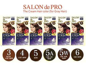 [DARIYA SALON de PRO] The Cream Hair Dye Color Kit for Gray Hair JAPAN NEW   eBay