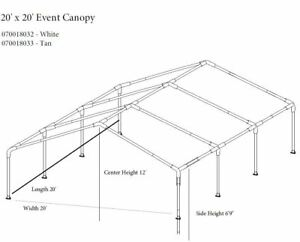 Launch of commemorative specials Impact Canopy 20x20