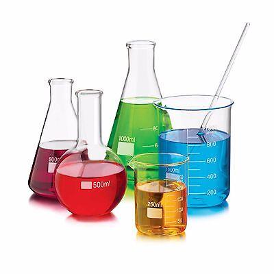 6 piece glass chemistry