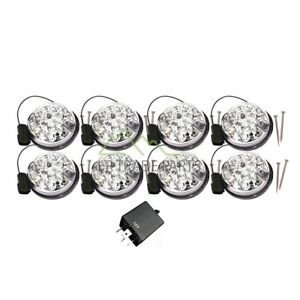 LAND ROVER DEFENDER NEW CLEAR LED DELUXE UPGRADE LIGHT SET