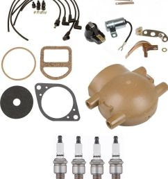 complete tune up kit for ford 9n 2n 8n tractors with front mount distributor for sale online ebay [ 1133 x 1399 Pixel ]