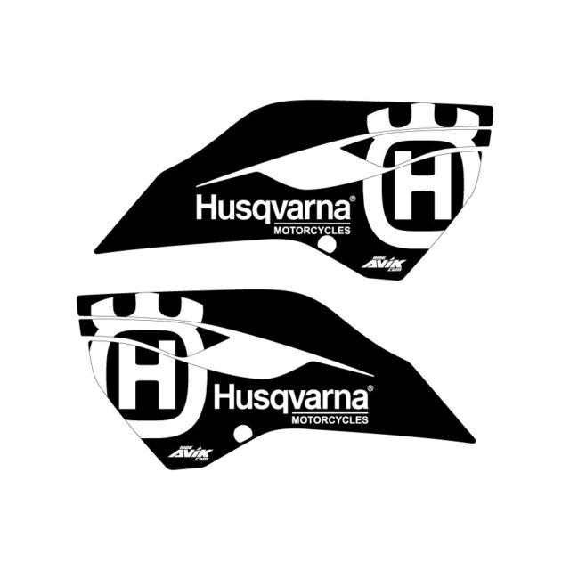 Husqvarna graphics 2014-2015 TC 125-250 FC 250-450 Black