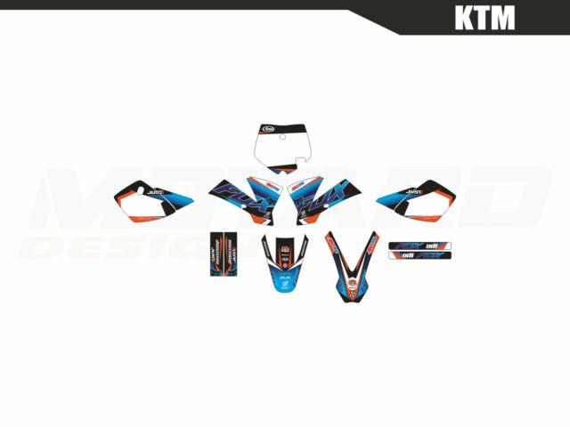 Motard graphics kit for KTM SX 50 2002 2003 2004 2005 2006