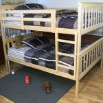 Rustic Hickory Mission Style Full Over Queen Bunk Bed Amish Made In Usa For Sale Online Ebay