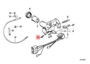 Genuine BMW E24 E28 E30 E32 E34 Steering Column Lock Bolt