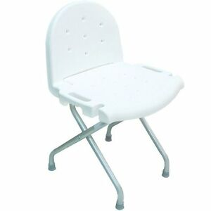 invacare shower chair gym exercise system with twister seat folding back 250lb weight capacity ebay image is loading