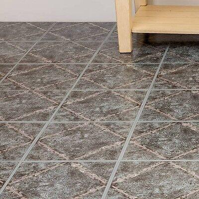 peel and stick tile self adhesive vinyl flooring grey kitchen bathroom floor ebay