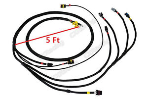 CXRacing Wire Harness For LS1 LSx Engine Sensor Cam Crank