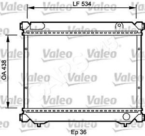 VALEO Engine Cooling Radiator Fits SUZUKI VITARA 1.9L