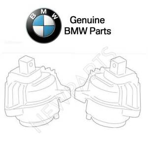 For BMW 535d F10 2014-2016 Set of Left & Right Engine