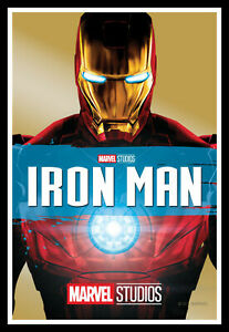 details about iron man movie poster print unframed canvas prints