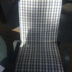 Tartan Dining Chair Covers For Sale Yoga Dvd Reviews Outdoor Furniture Gumtree Australia