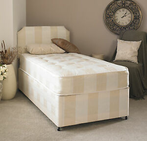 Image Is Loading 5ft Kingsize Mattress Budget Ortho Deep Quilted Memory