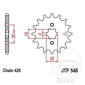 JT Front Sprocket 14T 428 Pitch JTF548.14 Yamaha TT-R 125