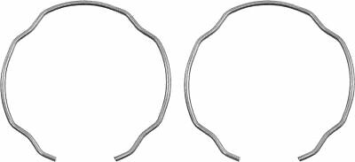 Pair Fork Oil Seal Retainer Clips For Kawasaki ZX-6R 636 F