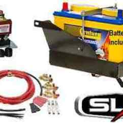 Redarc Sbi Wiring Diagram Atwood Water Heater Relay Sbi12 Dual Battery System Kit Tray 100 Image Is Loading