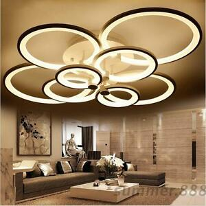 led ceiling light living room decorating ideas for with grey walls acrylic modern lights bedroom lighting image is loading
