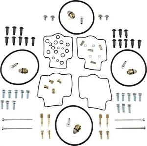 CARBURETOR CARB GASKETS JETS REBUILD KIT YAMAHA YZF600R
