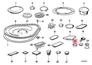 Genuine Blind Plug x20 pcs BMW M5 E32 E34 518i 520i 524td
