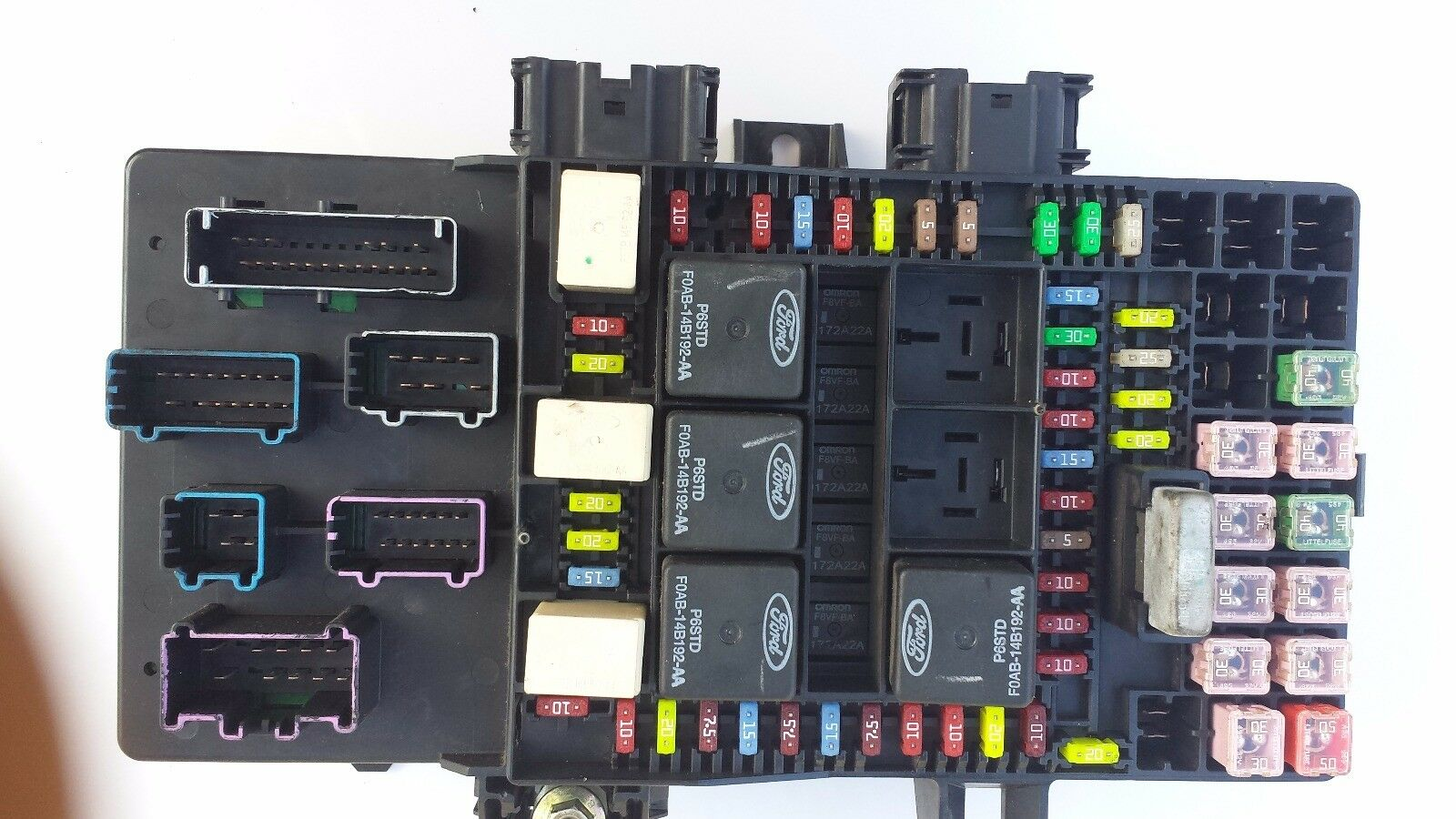 hight resolution of 2003 ford expedition lincoln navigator fuse box relay 2l1t 14a067 ap