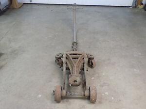 Antique Vintage Automotive Floor Jack Manufactored By National Standard Niles Mi Ebay