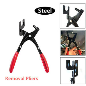 details about car exhaust hanger removal pliers rubber pad slip resistant hand repair tool