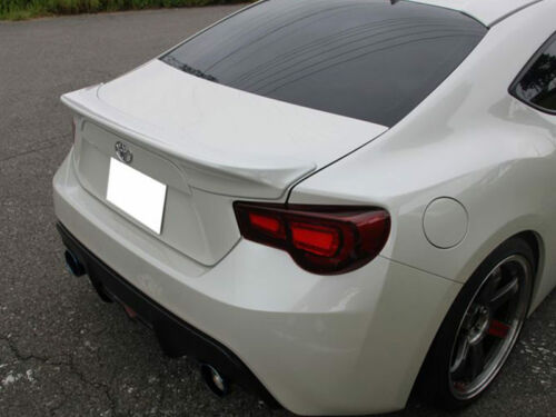 car tuning styling parts custom painted boot spoiler abs for subaru brz scion frs toyota 86 sbl biela