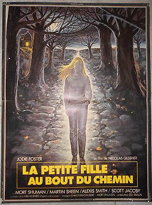 La Petite Fille Au Bout Du Chemin : petite, fille, chemin, Displays, Nicolas, Gessner, Jodie, Foster, 40x60cm