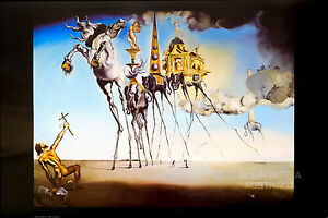 SALVADOR DALI - THE TEMPTATION OF ST. ANTHONY POSTER (61x91cm) NEW LICENSED ART