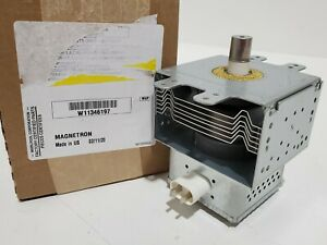 details about w11346197 whirlpool microwave magnetron new part