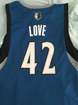 *Minnesota Timberwolves Kevin Love NBA Jersey Size M*   eBay