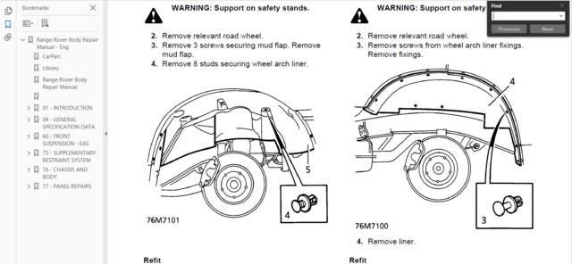 Official Workshop Manual Service Repair Land Rover Range