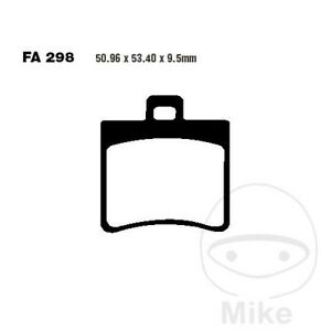 Kyoto Semi-Sintered Rear Brake Pads FA298 Aprilia SR 50 LC